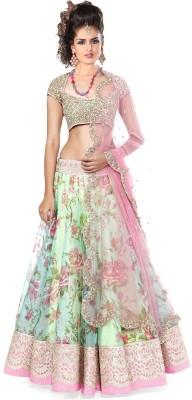 Sunita Floral Print Women's Lehenga Choli