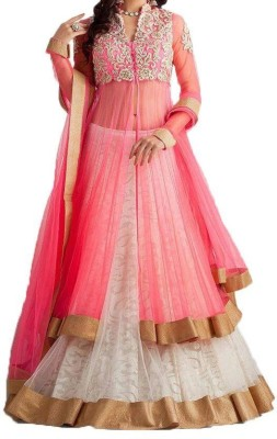 Madhav Enterprise Embroidered Women's Lehenga, Choli and Dupatta Set