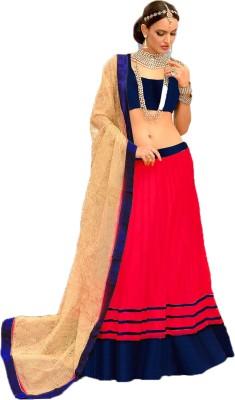Shahlon Embellished Women's Lehenga, Choli and Dupatta Set