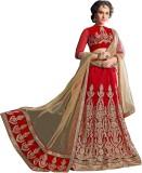 Ganga Fashion Embroidered Women's Leheng...