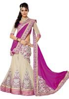 Sayshopp Chaniya, Ghagra Cholis - SayShopp Embroidered Women's Lehenga, Choli and Dupatta Set(Stitched)