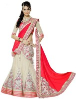 Jp Enterprise Chaniya, Ghagra Cholis - Jp Enterprise Embroidered Women's Lehenga, Choli and Dupatta Set(Stitched)