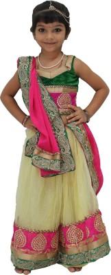 Jamboree Embroidered Girl's Ghagra Choli