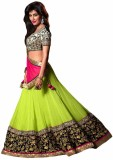 PRN Embroidered Women's Lehenga, Choli a...