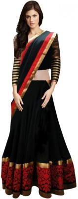 KanchanTextiles Embroidered Women's Lehenga, Choli and Dupatta Set