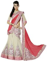 Ganes Chaniya, Ghagra Cholis - Ganes Embroidered Women's Lehenga, Choli and Dupatta Set(Stitched)