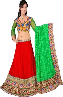 Sonika Solid Women's Ghagra Choli