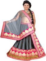 Moni Fashion Chaniya, Ghagra Cholis - Moni Fashion Embroidered Women's Lehenga, Choli and Dupatta Set(Stitched)