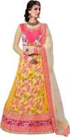 Mahotsav Chaniya, Ghagra Cholis - Mahotsav Embellished Women's Lehenga, Choli and Dupatta Set(Stitched)