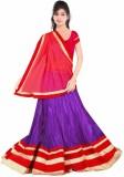 Dancing Girl Embroidered Women's Lehenga...