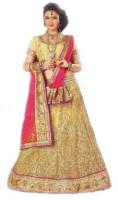 Fly onn Chaniya, Ghagra Cholis - Fly-Onn Embroidered Women's Lehenga, Choli and Dupatta Set(Stitched)