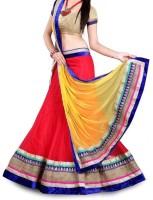 Jbkenterprise Chaniya, Ghagra Cholis - JBKEnterprise Embroidered Women's Lehenga, Choli and Dupatta Set(Stitched)
