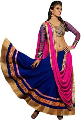 CrazeVilla Embellished Women's Lehenga, Choli and Dupatta Set
