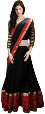 Vans Fashion Self Design Women's Lehenga, Choli and Dupatta Set
