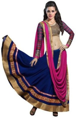 Samarth Fab Embroidered Women's Lehenga, Choli and Dupatta Set