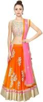 Z Fashion Chaniya, Ghagra Cholis - Z Fashion Embroidered Women's Lehenga Choli(Stitched)