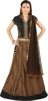 Saianna Style Studio Chaniya, Ghagra Cholis - Saianna Style Studio Self Design Women's Lehenga, Choli and Dupatta Set(Stitched)
