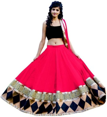 cartyshop Embroidered Women,s Lehenga Choli