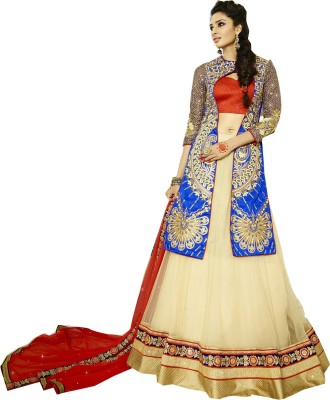 Rajhans Fashion Embellished Women's Ghagra, Choli, Dupatta Set