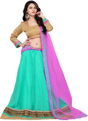 Vimush Fashion Embroidered Women's Lehenga, Choli and Dupatta Set