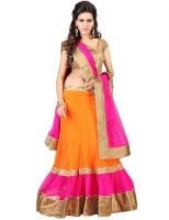 Kavita Fashion Chaniya, Ghagra Cholis - Kavita Fashion Embroidered Women's Lehenga, Choli and Dupatta Set(Stitched)