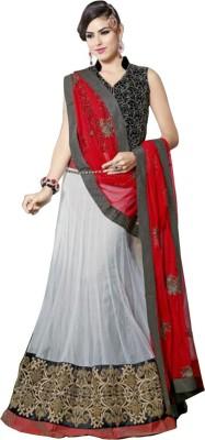 Snreks Collection Self Design Women's Lehenga, Choli and Dupatta Set