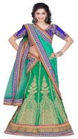 Aditya Creation Chaniya, Ghagra Cholis - Aditya Creation Embroidered Women's Lehenga, Choli and Dupatta Set(Stitched)