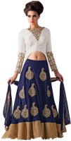 Ethnic Bazaar Chaniya, Ghagra Cholis - Ethnic Bazaar Embroidered Women's Lehenga, Choli and Dupatta Set(Stitched)
