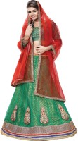 Vogue Era Chaniya, Ghagra Cholis - Vogue Era Embroidered Women's Lehenga, Choli and Dupatta Set(Stitched)