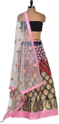 Style Sensus Embroidered Women's Lehenga, Choli and Dupatta Set