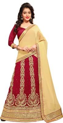Aara Trendz Embroidered Women's Ghagra, Choli, Dupatta Set