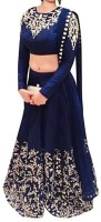 Chunarlifestyle Chaniya, Ghagra Cholis - Chunarlifestyle Embroidered Women's Lehenga, Choli and Dupatta Set(Stitched)