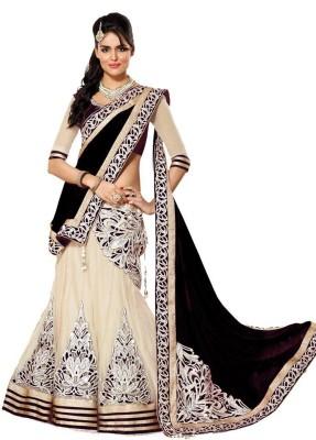 Rajeshwar Fashion Embroidered Women's Lehenga, Choli and Dupatta Set