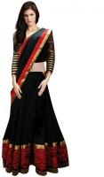 Nirja Enterprise Chaniya, Ghagra Cholis - Nirja Enterprise Embroidered Women's Lehenga Choli(Stitched)