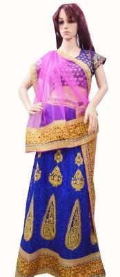 RS Creations Self Design Women's Lehenga, Choli and Dupatta Set