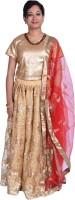 Kaaj Designs Chaniya, Ghagra Cholis - Kaaj Designs Embroidered Women's Lehenga Choli(Stitched)
