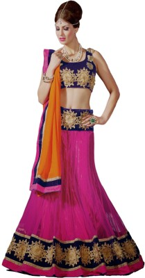 Maaike Embroidered Women's Lehenga, Choli and Dupatta Set