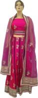 Navyug Saree Kendra Chaniya, Ghagra Cholis - Navyug Saree Kendra Embroidered Women's Lehenga, Choli and Dupatta Set(Stitched)