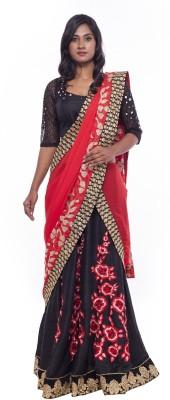 Soucika Embroidered Women,s Lehenga, Choli and Dupatta Set