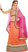 Aagaman Fashion Chaniya, Ghagra Cholis - Aagaman Fashion Self Design Women's Lehenga, Choli and Dupatta Set(Stitched)