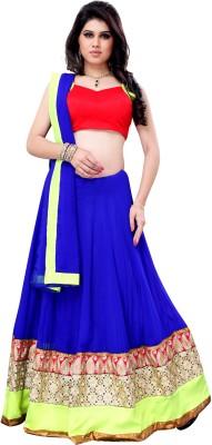 Kashish Lifestyle Self Design Women's Lehenga, Choli and Dupatta Set