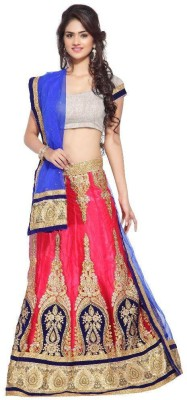 Kesar creation Embroidered Women's Ghagra Choli(Stitched) at flipkart