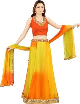 Saianna Style Studio Self Design Women's Lehenga, Choli and Dupatta Set