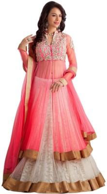 A3 Fashion Embroidered Womens Lehenga, Choli and Dupatta Set