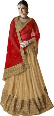 Vimlon Embroidered Women's Lehenga, Choli and Dupatta Set