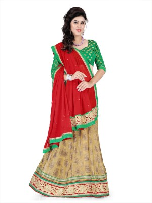 Aastha Sarees Self Design Women's Lehenga Choli