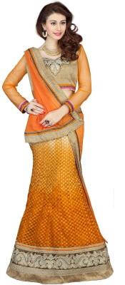 Kataria Fabrics Embroidered Women's Lehenga, Choli and Dupatta Set