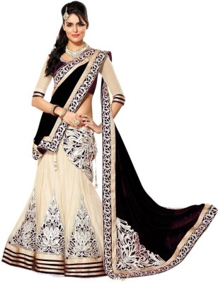 Lotusdlady Embroidered Women's Lehenga, Choli and Dupatta Set