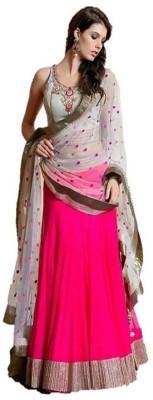 Aagamanfashion Embellished Women's Lehenga, Choli and Dupatta Set