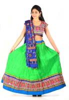 Styleincraft Chaniya, Ghagra Cholis - Styleincraft Embroidered Women's Lehenga, Choli and Dupatta Set(Stitched)